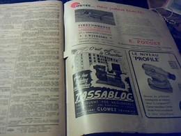 Revue Le Moniteur Des Travaux Publics Et Du Batiment 9  Fevrier 1952 ** - Libri, Riviste, Fumetti