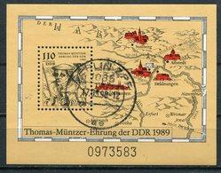 DDR Michel-Nr. Block 97 Vollstempel - Blocchi