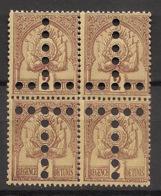 Tunisie - 1888-1898 - Taxe TT N°Yv. 10a - 2 Paires Tête-bèche - Neuf  Luxe ** / MNH / Postfrisch - Tunisia (1888-1955)