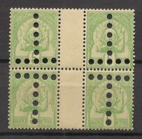 Tunisie - 1899-1901 - Taxe TT N°Yv. 22a - 2 Paires Tête-bèche Interpanneau - Neuf  Luxe ** / MNH / Postfrisch - Tunisia (1888-1955)