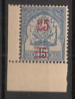 Tunisie - 1902 - N°Yv. 28 - 25c Sur 15c Bleu - Bord De Feuille - Neuf  Luxe ** / MNH / Postfrisch - Tunisie (1888-1955)