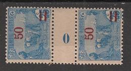 Tunisie - 1920 - N°Yv. 99 - Paire Millésimée 0 - Neuf  Luxe ** / MNH / Postfrisch - Neufs