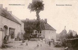 (Jura)  CPA  Foucherans  Restaurant Moderne    (Bon Etat) - Other Municipalities