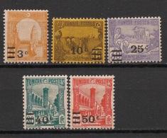 Tunisie - 1928 - N°Yv. 154 à 158 - Série Complète - Neuf * / MH VF - Tunisie (1888-1955)