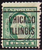 USA Precancel - CHICAGO ILLINOIS - Etats-Unis