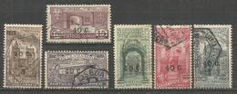 PORTUTAL YVERT NUM. 565/570 SERIE COMPLETA USADA - 1910-... República