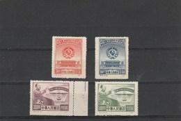 CHINA - 19-05- 99.  4 UNUSED STAMPS. COMPLET SET. - 1949 - ... République Populaire