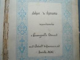 Cahier De Chansons 2éme BCP Lunéville 1899 - Libri, Riviste & Cataloghi