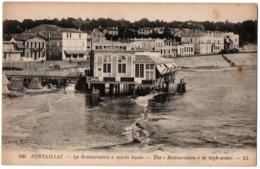 CPA 17 - ROYAN PONTAILLAC (Charente Maritime) - 120. Restauration à Marée Haute - Royan