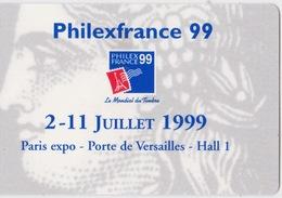 Philexfrance 99 - Laissez-Passer - Tickets D'entrée