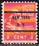 USA Precancel - NEW YORK  N.Y. - Etats-Unis