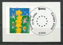 BRD 2000  Mi.Nr. 2113 , EUROPA CEPT Kinder Bauen Sternenturm - SS Bonn 12.05.2000 - Europa-CEPT