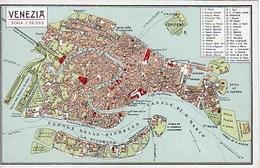 VENEZIA - Scala 1: 36.000. Cartoleria Gio. Zanetti Venezia - Venezia (Venice)