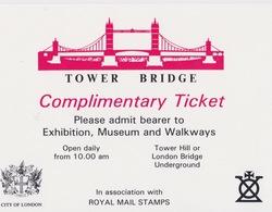 Tower Bridge - Tickets D'entrée