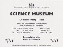 Science Museum London - Tickets D'entrée