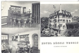 HOTEL ROSSLI WEGGIS  CLEMENS HOFMANN - Publicidad