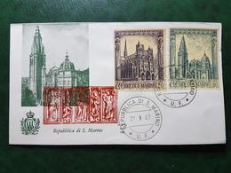 (36385) F.D.C. SAN MARINO  1967 - FDC