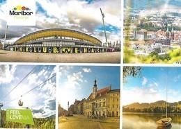 Maribor- Soccer Stadium Ljudski Vrt- Funicular Railway - Stades