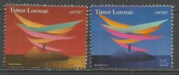TIMOR 2000 UNTAET YVERT NUM. 1/2 ** SERIE COMPLETA SIN FIJASELLOS - Administración De Transición De Las NU Para Timor Oriental