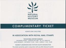 Natural History Museum - Tickets D'entrée