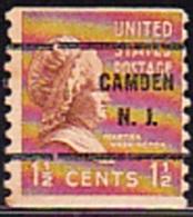USA Precancel - CAMDEN  N.J. - Etats-Unis
