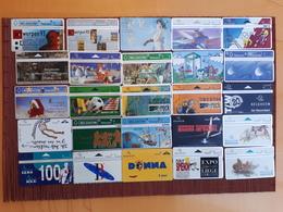 Nice Lot 25 Different Phonecards Belgium Used - Belgique