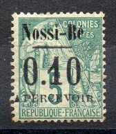 NOSSI-BE - YT Taxe N° 15 Signé - Neuf * - MH - Cote: 32,00 € - Nossi-Be (1889-1901)