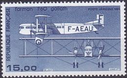 France Poste Aérienne PA57 Année 1984 Neuf - 1927-1959 Postfris