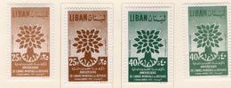 1960 - LIBANO - LEBANON - Mi. Nr. 670/672 I/II - LH - (S03052019.....) - Libano