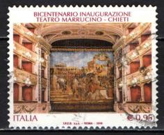 ITALIA - 2018 - BICENTENARIO INAUGURAZIONE DEL TEATRO MARRUCINO - CHIETI - USATO - 6. 1946-.. Repubblica