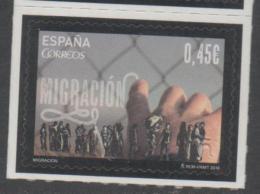 SPAIN , 2016, MNH, IMMIGRATION, REFUGEES, HUMAN RIGHTS,1v - Stamps