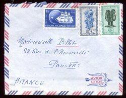 Congo Belge - Enveloppe Pour La France - Réf O67 - 1947-60: Cartas