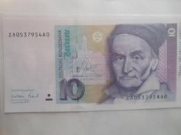 Deutschland 10 Mark 1999, Ro-312b, Unc. - [ 7] 1949-… : RFA - Rep. Fed. Tedesca