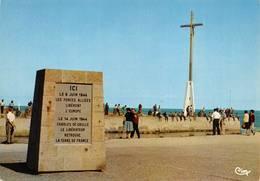 Courseulles Sur Mer Canton Creully Stèle Débarquement 1944 Général De Gaulle - Courseulles-sur-Mer