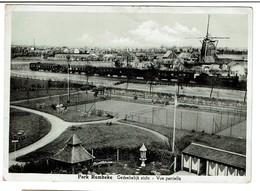 Roeselare - Park Rumbeke - Gedeeltelijk Zicht - Vue Partielle - Moulin / Molen - Train - 2 Scans - Roeselare