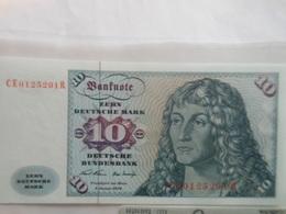 Deutschland 10 Mark 1970, Ro-270b, Unc. - 10 Deutsche Mark
