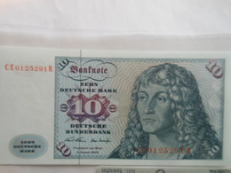 Deutschland 10 Mark 1970, Ro-270b, Unc. - [ 7] 1949-… : FRG - Fed. Rep. Of Germany