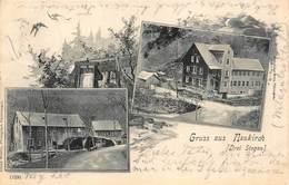 NEUKIRCH GERMANY (DRIE STEGEN)  1901 POSTMARK GEBRUDER METZ POSTCARD 40493 - Allemagne