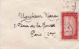 LSC 1938 - Cachet ORAN  Sur Timbre Halte Saharienne YT 113A Seul Sur Mignonette - Briefe U. Dokumente