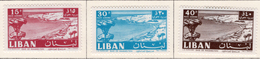 1961 - LIBANO - LEBANON - Mi. Nr. 729/731 - LH -  (S03052019.....) - Libano