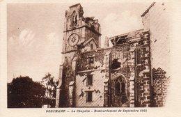 Ronchamp - La Chapelle - Bombardement De Septembre 1944 - France