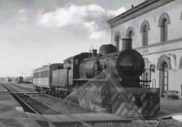 590 Treno 740.130 Stazione Di Caorso Piacenza Railroad Train Railways FS - Treni