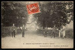 51 - BRAUX SAINTE COHIERE - Entrée Du Château - France