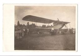 Avion - Bi Plan - Avec La Contesse Devant L'avion - Son Fils Mourra Apres En Avion A Gand Belgique - ....-1914: Precursors