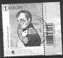 OCB Nr 4536 Waterloo Napoleon Napoleone - Centrale Stempel - Belgique