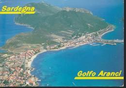 Italia Formato Grande:Cartolina GOLFO ARANCI(OT) - Veduta . Viaggiata . - Italia