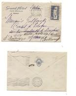 2938) FRANCIA POSTAL HISTORY 1933 AIR MAIL COVER1,50f IsolatoTO ITALY - Francia