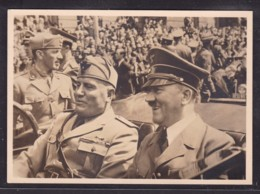 1940 PPC - MUSSOLINI VISITS HITLER IN MUNCHEN - PARADE  (STAMPEDE 18897) - Weltkrieg 1939-45