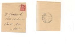 2945) FRANCIA 1928  Fascetta X Giornali 50c Isolato Solo - Storia Postale