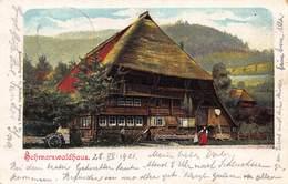SCHWARZWALDHAUS G ROBEKE 1901 KUNTSLER POSTCARD 40494 - Germany